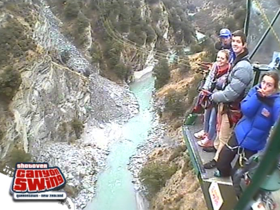Canyon Swinging in Queenstown