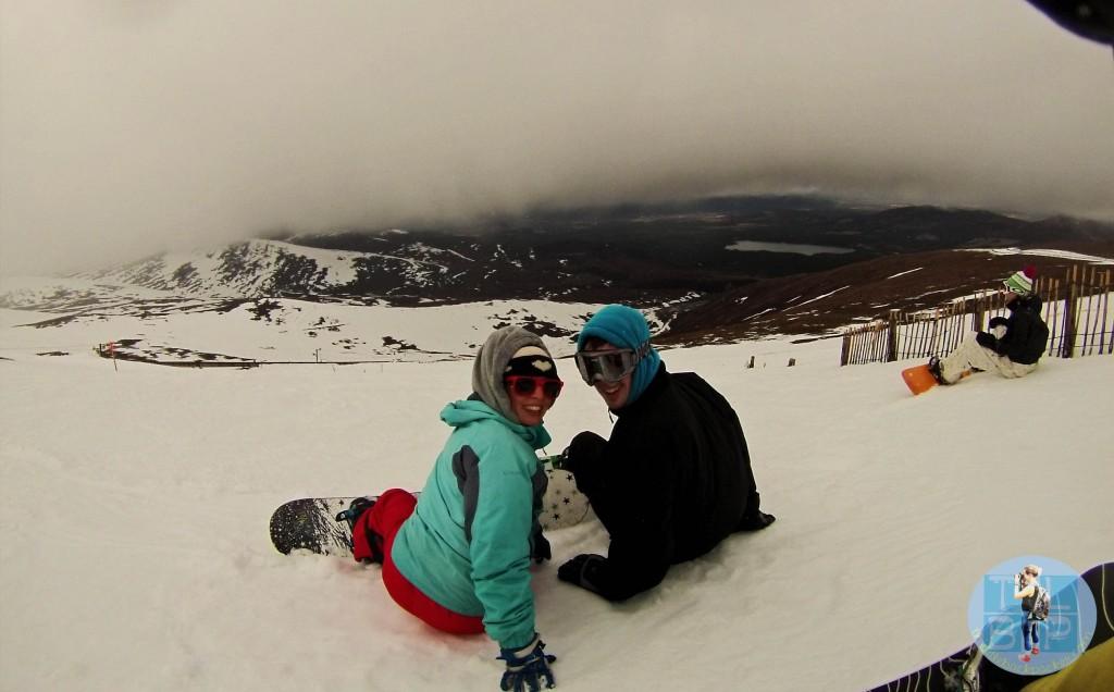 scotland - snowboarding