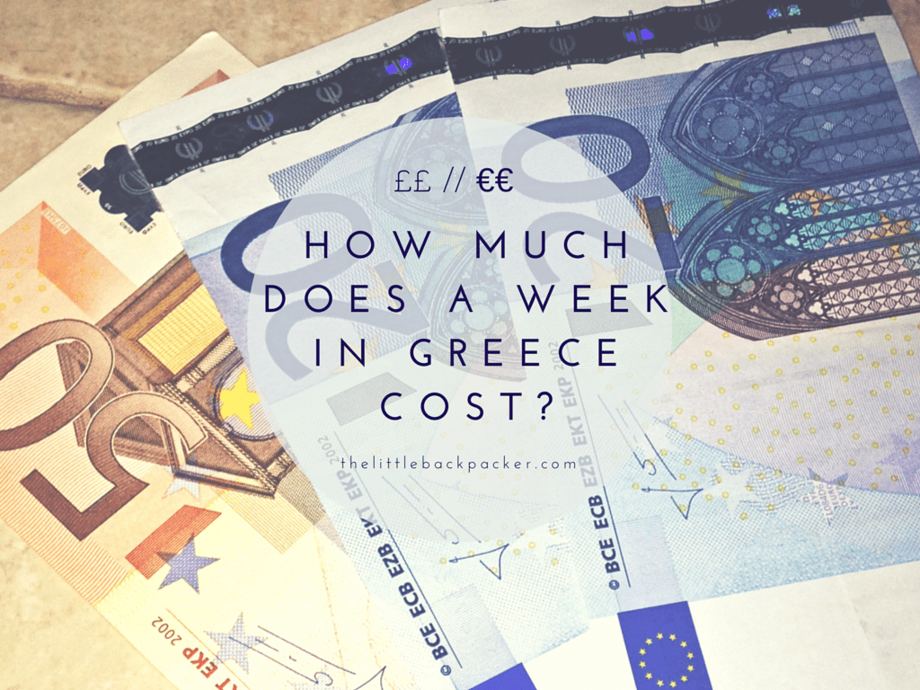 How Much Does A Week In Greece Cost?