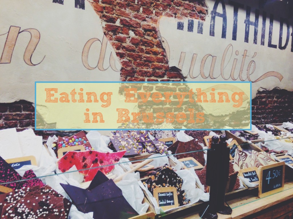Eating Everything in Brussels