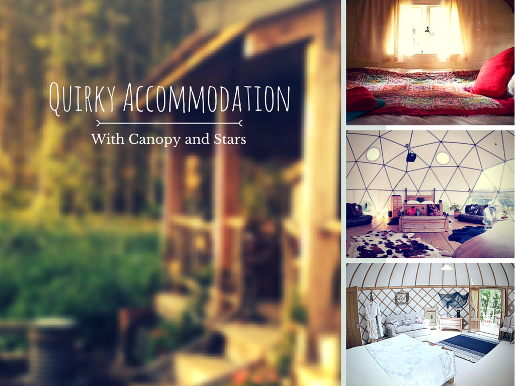 8 Quirky Accommodation Options with Canopy and Stars