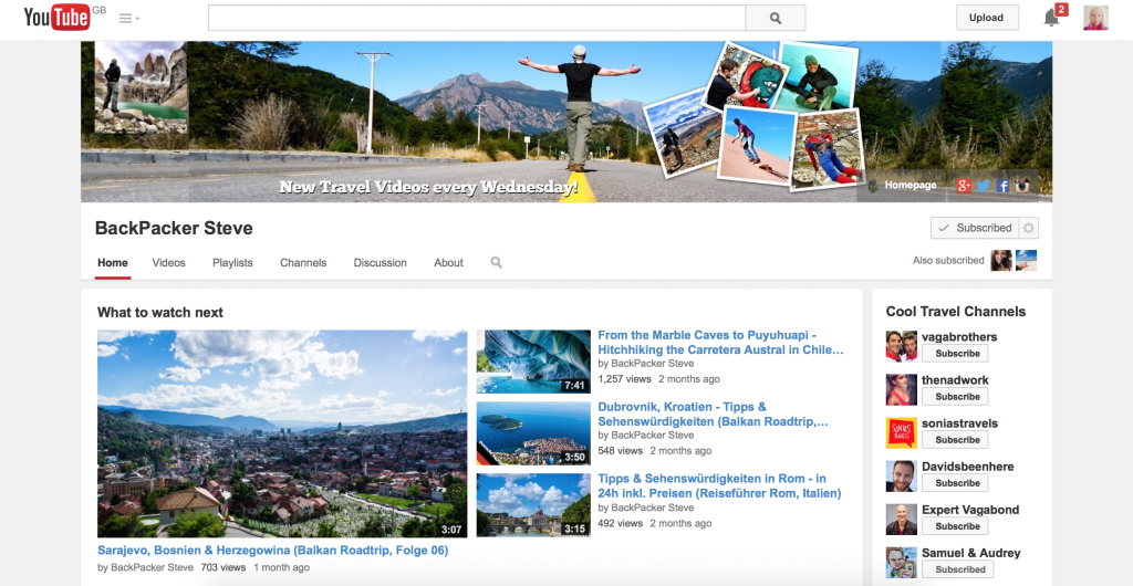 top travel vloggers