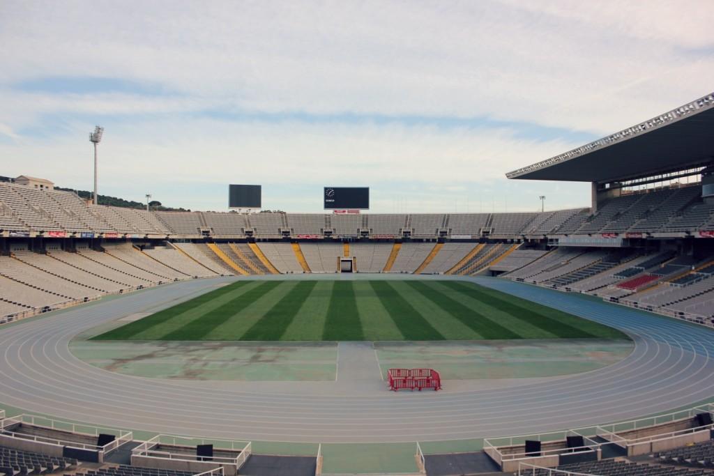 Barcelona - olympic stadium