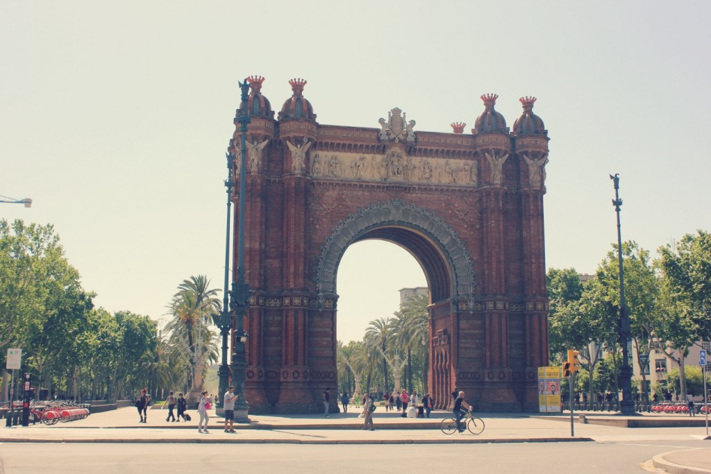 Barcelona - Arch de Triump