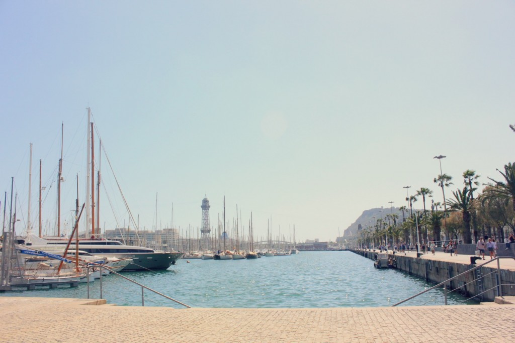 Photos of Barcelona - marina