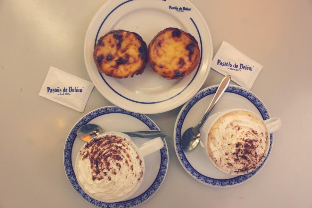 lisbon - custard tarts in Belem