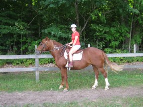 it's a camp thing - horse riding