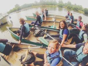 canoeing with secret adventures