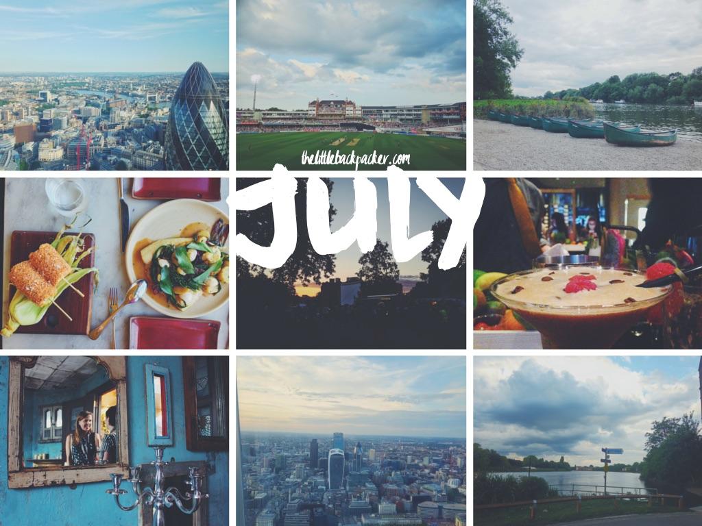 July on The Little Backpacker