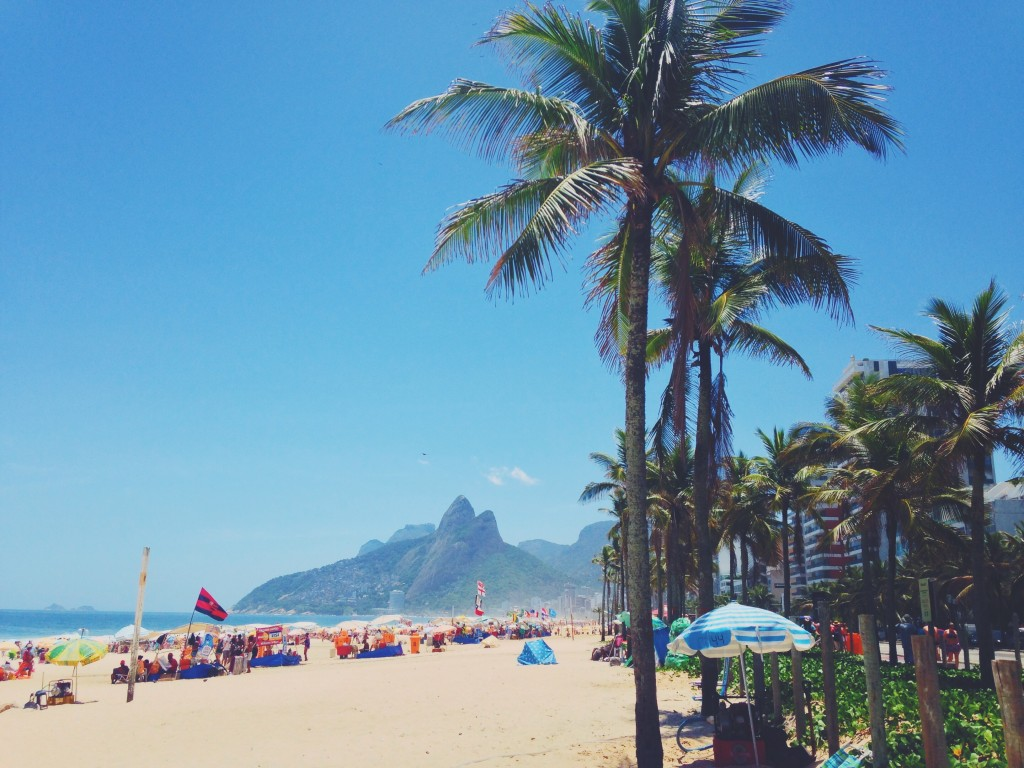 I also remember the last visit to Ipanema Beach before leaving.