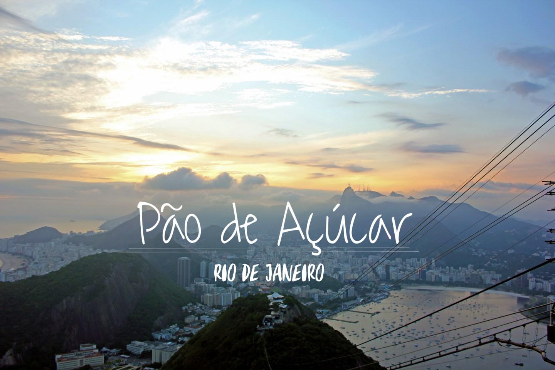 Sunset from Pão de Açúcar in Rio de Janeiro