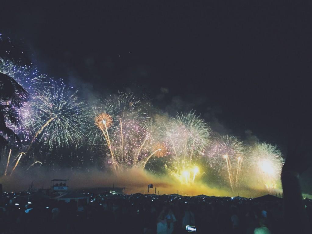january - new year fireworks rio