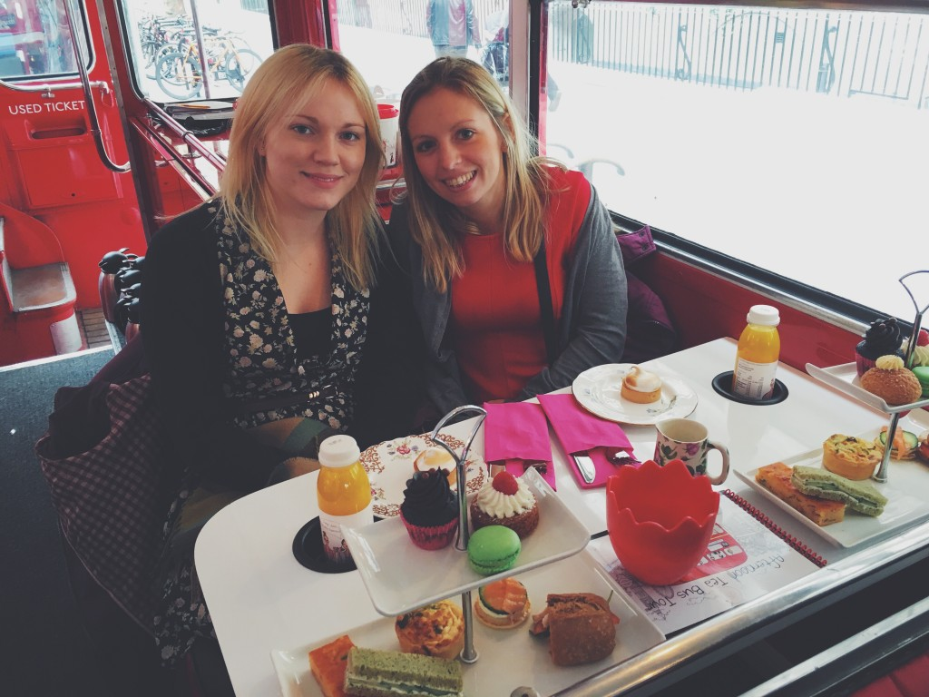 An Afternoon Tea with BBbakery Bus
