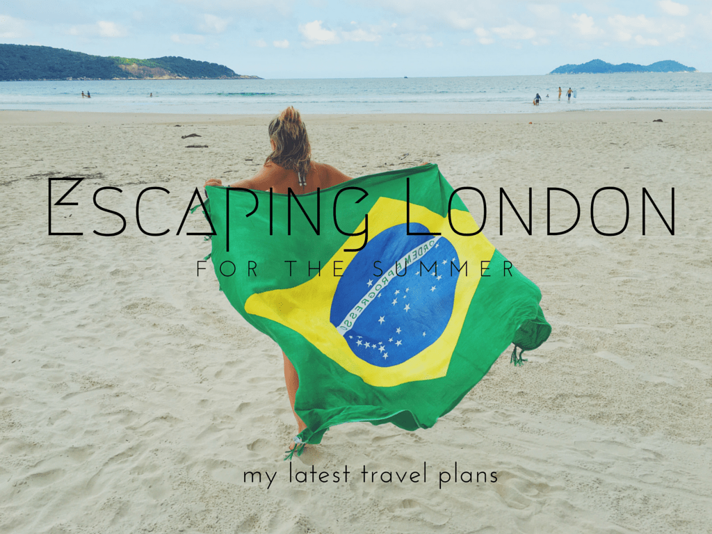 Escaping London for the summer