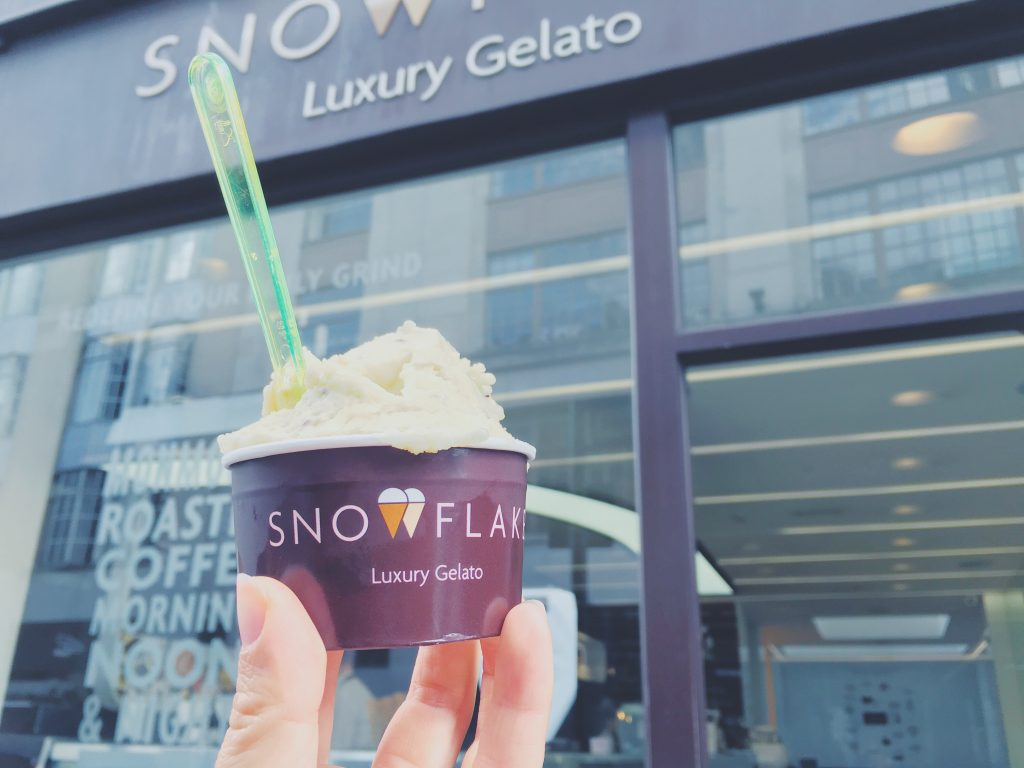 Eating in London: Gluten Free - Snowflake