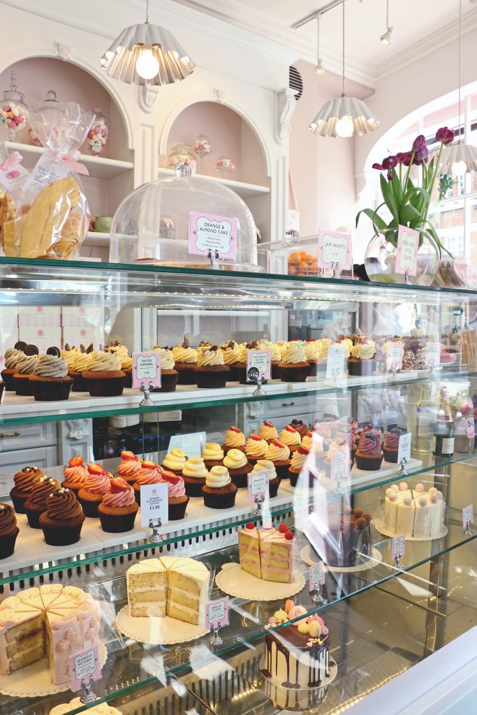 Eating in London: Gluten Free - Peggy Porschen Cakes