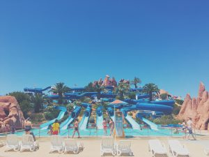 Slide and Splash water park - a little guide to the Algarve