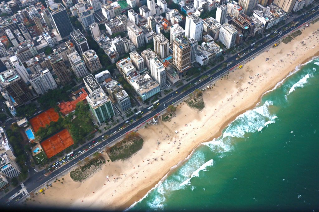 Flying Over Rio de Janeiro