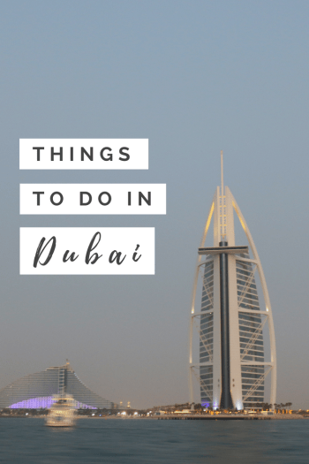 Pinterest Image - Things to do in Dubai