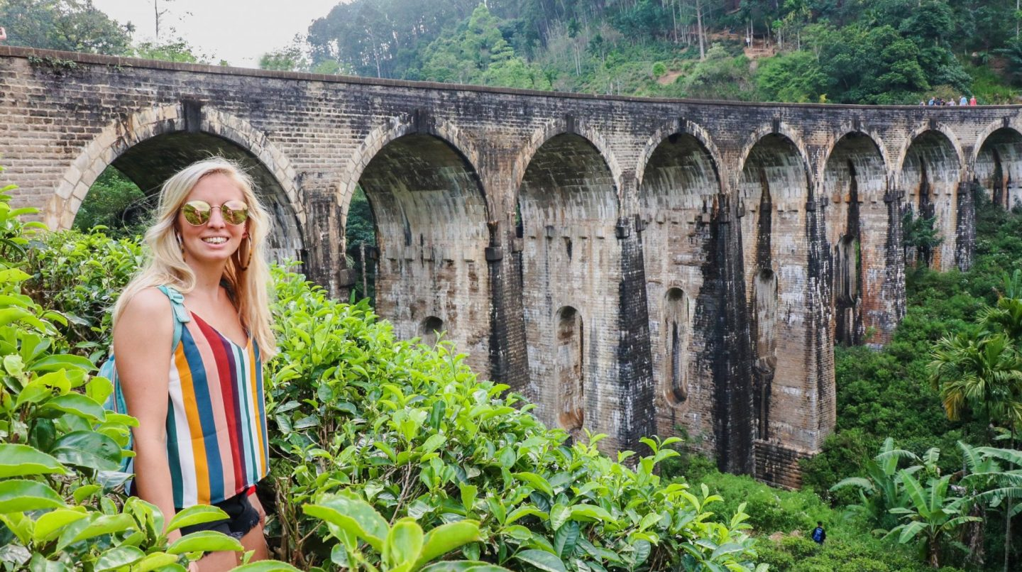 things to do in Ella - nine arch bridge views