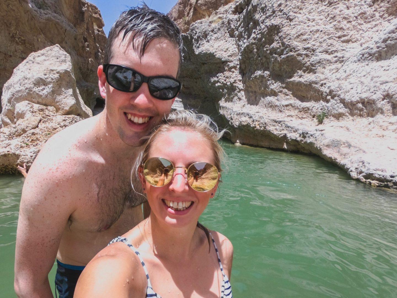 Selfie at Wadi Shab