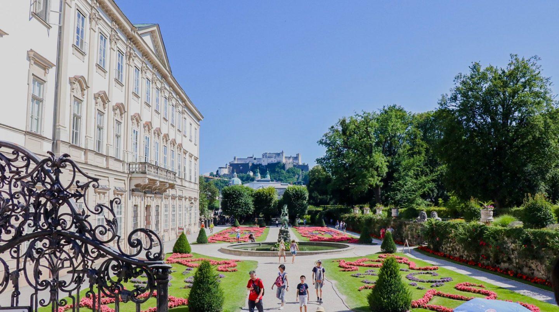 Salzburg - Sound of Music Gardens
