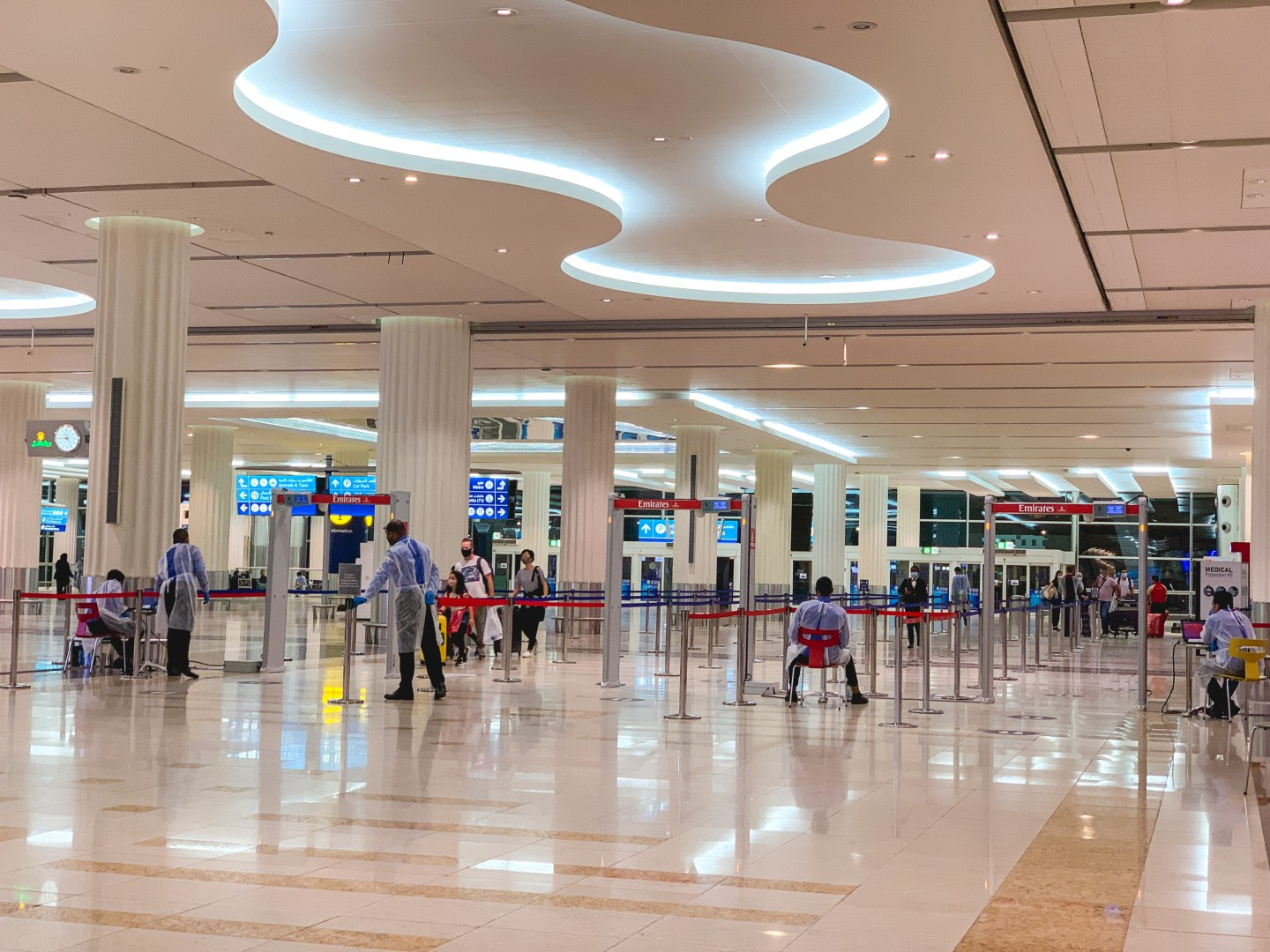 My Experience Flying During COVID-19 - Dubai Aiport
