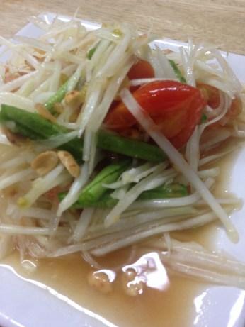 Tasty Papaya Salad
