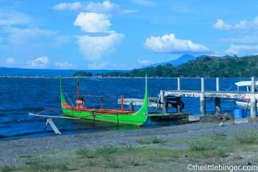 Talisay boat ride.