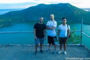 Taal Volcano Crater