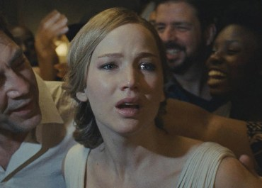 Jennifer Lawrence in mother!