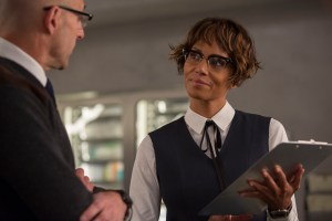 Halle Berry and Mark Strong in Kingsman The GOlden Circle