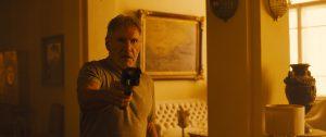 Harrison Ford returns as Rick Deckard in Blade Runner 2049