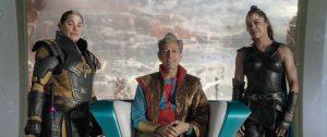 Jeff Goldblum as Grandmaster in Thor Ragnarok.
