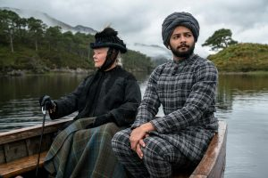 Judi Dench and Ali Fazal in Victoria and Abdul
