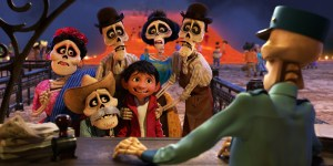 An unusual family reunion in Coco. | Credit: Disney Pixar