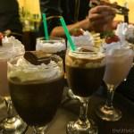 Choose your milkshake.   Chatsi Bloggers Night