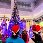 These kids can't wait for the show to start! | Christmas Town at SM Southmall