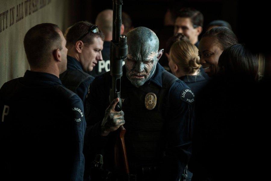 Joel Edgerton as Officer Nick Jakoby in Netflix's Bright   Photo: Netflix