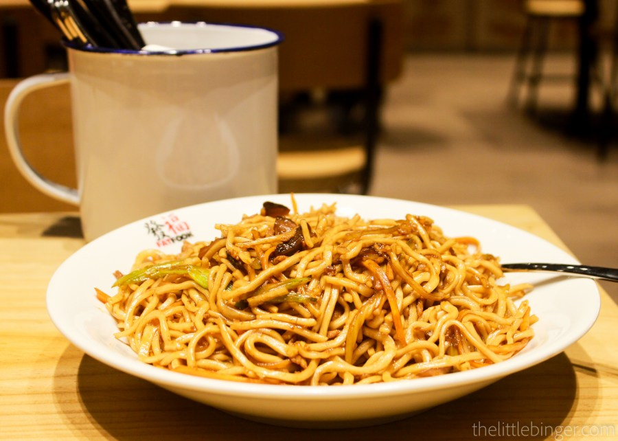 Taiwan Style Fried Noodles (P228) | Fat Fook Manila
