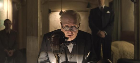 Gary Oldman inspires a nation in The Darkest Hour. | Photo: Focus Features