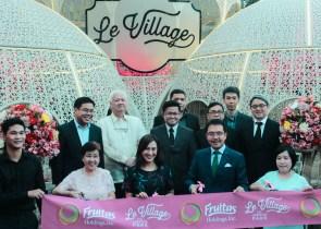Fruitas Holdings Executives and Quezon City Vice Mayor Joy Belmonte