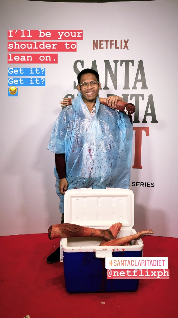 You know I did enjoy the red carpet event of Santa Clarita Diet 2 in SM Megamall.