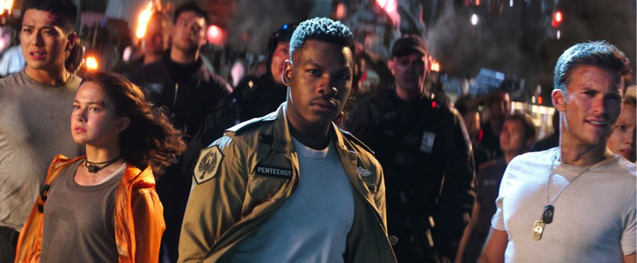 John Boyega leads a new generation of Jaeger pilots in Pacific Rim Uprising.