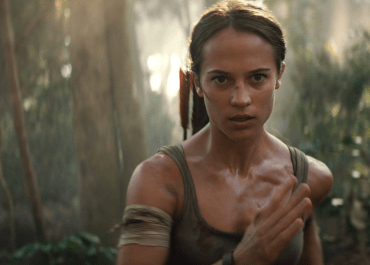 Alicia Vikander takes on an adventure in Tomb Raider.