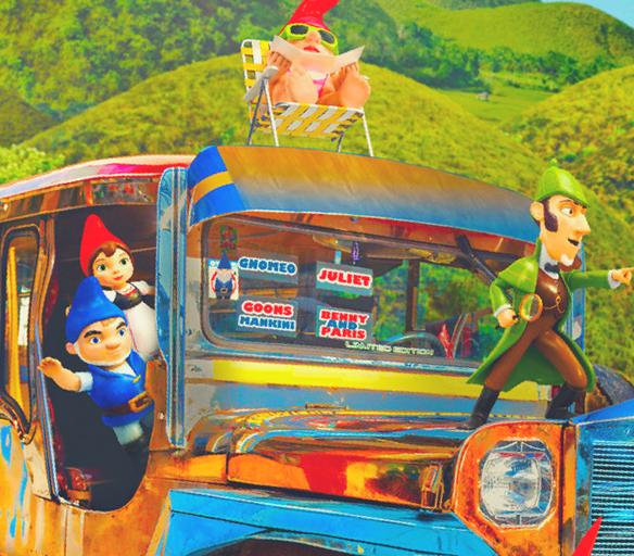 Sherlock Gnomes get lost in Bohol