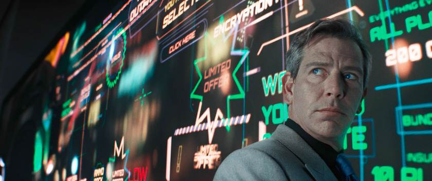 Ben Mendelsohn is the evil capitalist in Ready Player One.