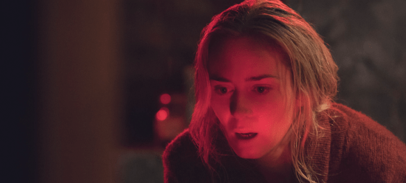 Emily Blunt in A Quiet Place. | Credit: United International Pictures