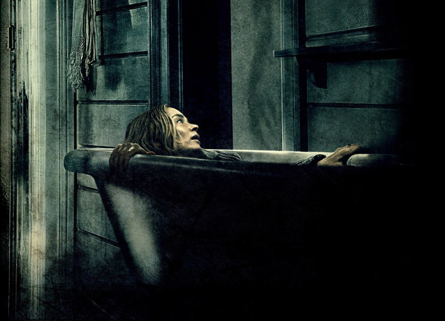 Emily Blunt delivers the scares in A Quiet Place.   Credit: United International Pictures
