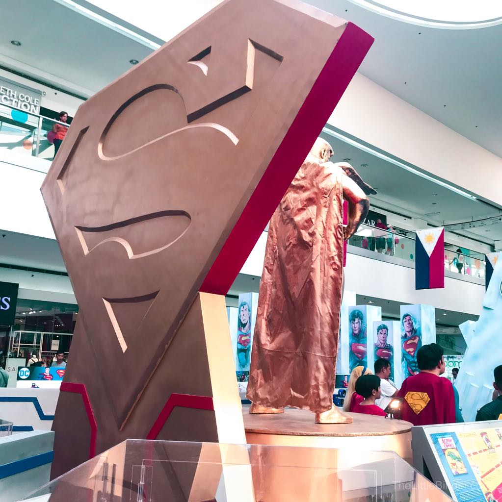 "'S"" it stands for Hope. #Superman80thPH"